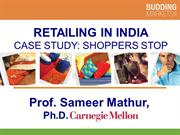 Retailing in India Case Study Shoppers stop