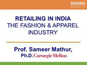 Retailing in India the Fashion and Apparel Industry