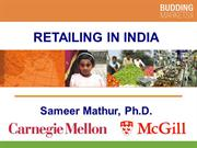 Retailing in India