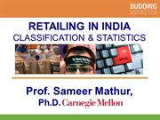 Retailing in India Classification and Statistics