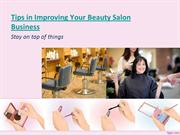 Tips in Improving Your Beauty Salon Business