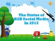 The State of B2B Social Media 2013