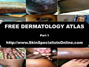 FREE DERMATOLOGY ATLAS PART 1