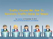 Traffic Course  4 How To Generate Traffic Using Ad Swaps