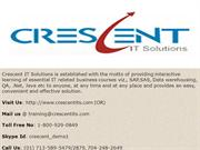 Crescent IT Solutions Received Valuable Feedback on Oracle PL/SQL