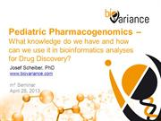 Pediatric Pharmacogenomics for Drug Discovery
