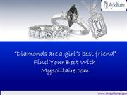 Buy Diamond Engagement Rings At Mysolitaire.Com