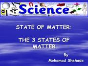 Mohamad Shehade -State Of Matters