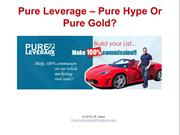 Pure Leverage-Was Joining Pure Leverage A Good Decision Or Not?
