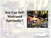are-you-self-motivated-spiritually