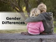 Gender Differences PPT Content