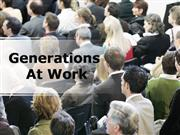 Generations at Work PPT Content