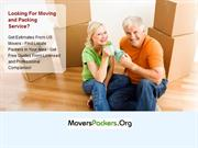 Moving and Packing Services in USA