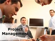 Project Management PPT Content