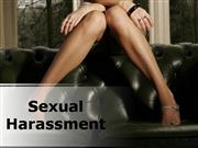 Sexual Harassment PPT Content