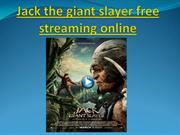 Jack the giant slayer free streaming online