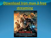 Download Iron man 3 free streaming