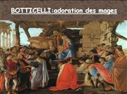 adoration des mages botticelli