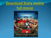 Download Scary moVie full movie