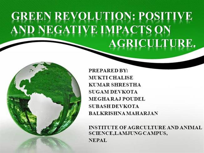 impact of green revolution on farmers