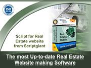The most Up-to-date Real Estate Website making Software