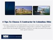 4 Tips To Choose A contractor in columbus Ohio