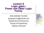 VLSI_Power and Other Logic Family Lecture06