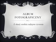 Album fotograficzny