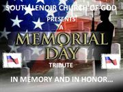 2011 Memorial Day Church Video Presentation