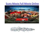Scary Movie Full Movie Online