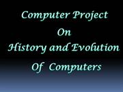 history of computers by yssraghuvamsi