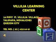 Villilia Learning Center ( VLC )