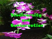 7-6. Biodiversity  and Conservation