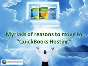 QuickBooks Hosting - Reasons to move to QuickBooks Hosting
