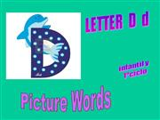 LETTER D VOCABULARY