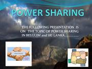 ujjwal awasthi- power sharing