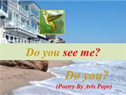 Do You (Poetry By Avis Pope)