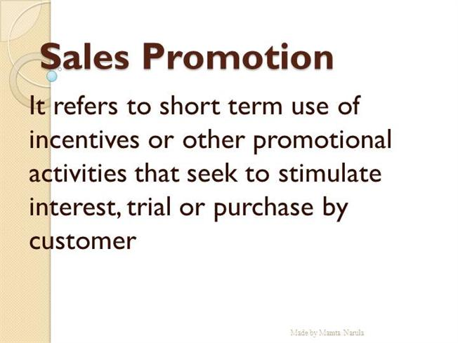 sale promotion techniques Sales Promotion Techniques |authorSTREAM