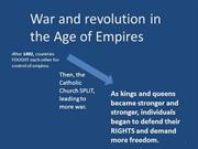 War and revolution in Europe FINAL