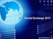 Hosted Exchange Services