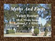 Myths And Facts (Valley Restart)