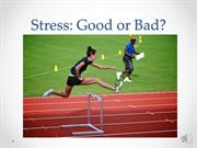 Effects of Stress on the Body Presentation