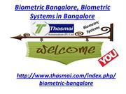 Biometric Bangalore, Biometric Systems in Bangalore