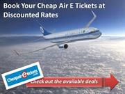Find out Cheap Flight Vacation Deals and Packages