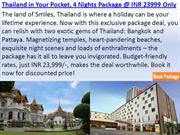 Thailand in Your Pocket, 4 Nights Package