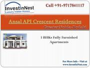 Ansal API Crescent Residences: Exclusive residential Apartments