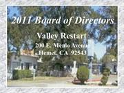 Board of Directors (Valley Restart 2011)