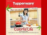 Promo Tupperware April 2013