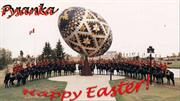 Happy Easter! Pysanka
