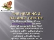 Hearing Aids and Hearing Tests | Hearing & Balance Centre Sydney